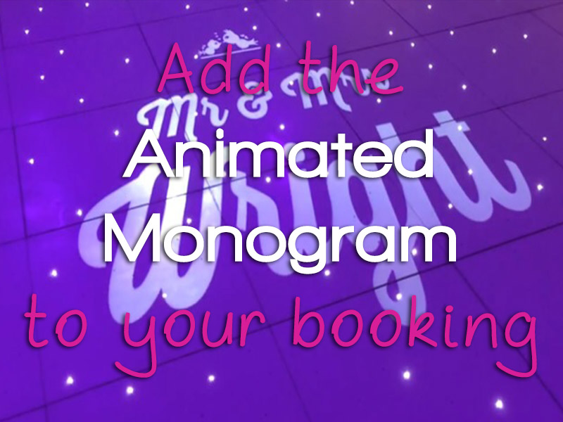 ADD animated monogram from only £75