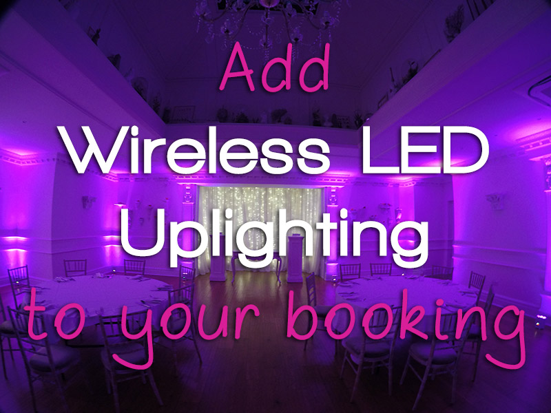 Wireless Uplighting Add on